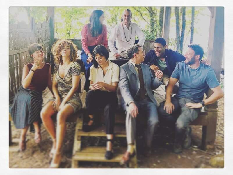 Et voici un premier aperçu des acteurs sur le tournage de Ils étaient 10, adaptée des Dix Petits Nègres