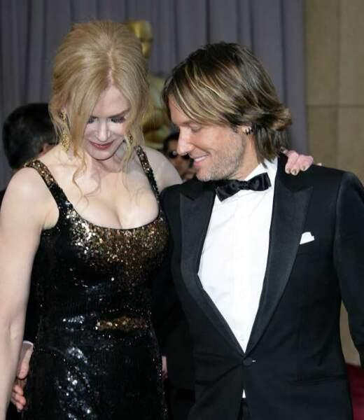 Keith Urban n'a d'yeux que pour Nicole Kidman