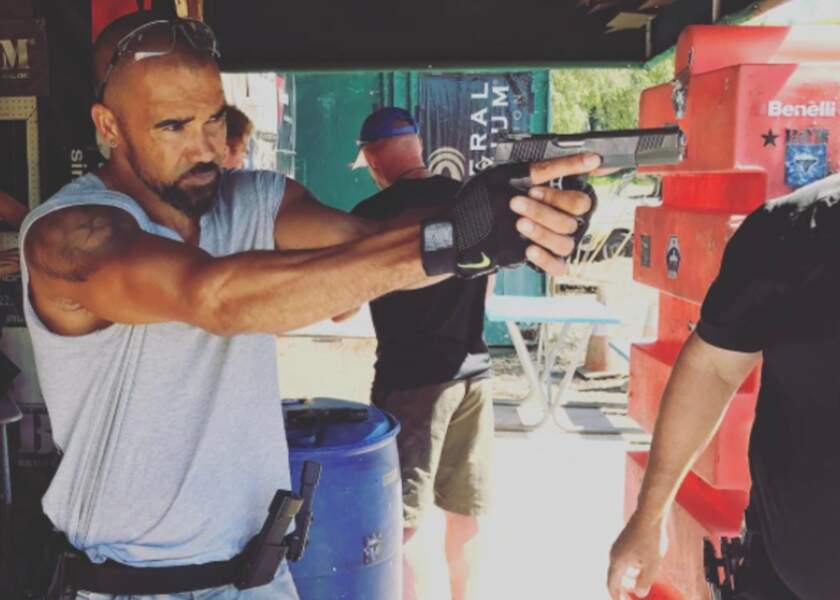 L'acteur a aussi démarré son entraînement pour la série SWAT dont il sera le héros