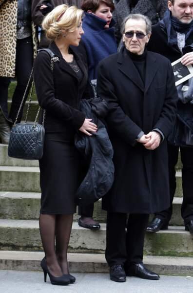 Julia Duchaussoy, la fille de Corinne Le Poulain et le compagnon de Corinne Le Poulain