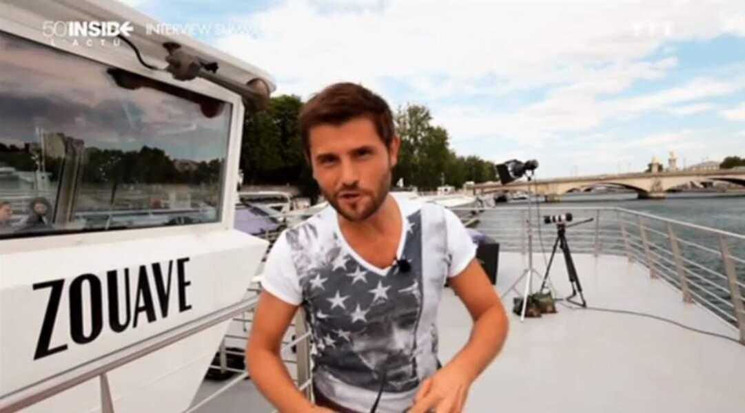 Christophe Beaugrand anime une chronique dans 50 minutes Inside sur TF1 et présenté Secret Story