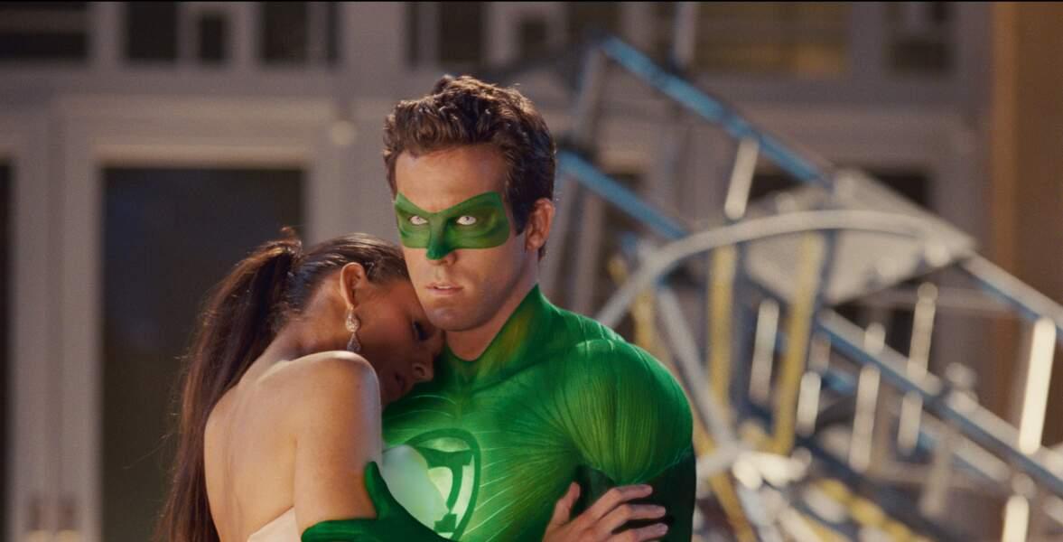 Dans les bras du super-héros Green Lantern (2011)