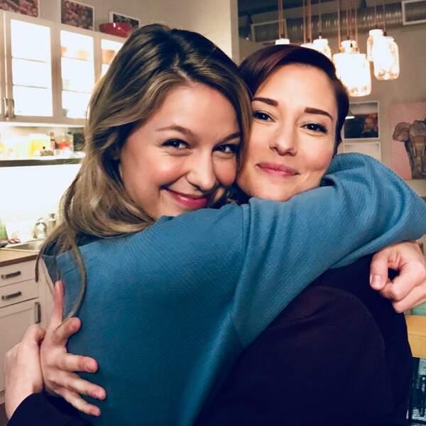 Melissa Benoist et Chyler Leigh, les deux sœurs soudées de Supergirl
