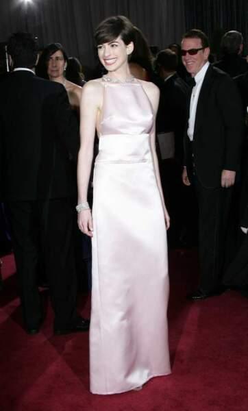 Anne Hathaway, meilleure actrice dans un second rôle pour Les Misérables