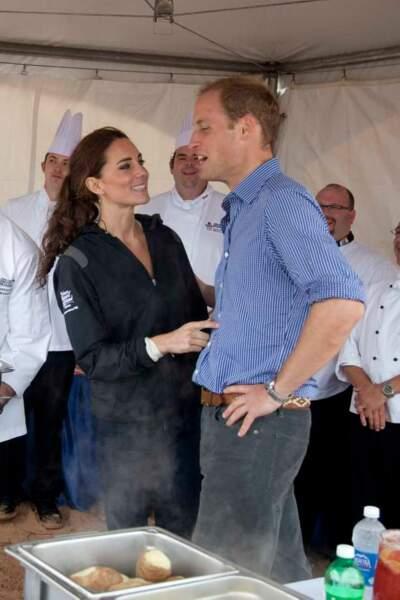 Kate et William : premier voyage officiel