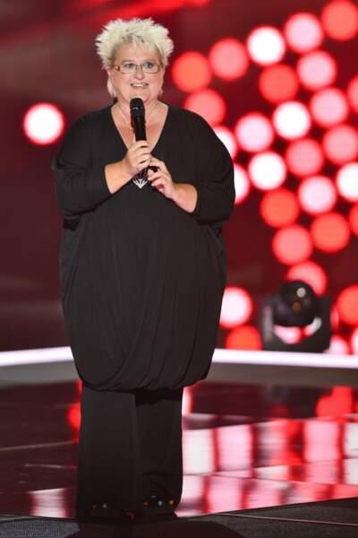 """Inscrite par ses voisins, Ketlyn, 56 ans, est une des rares """"voix opératiques"""" choisies par Florent  cette saison"""