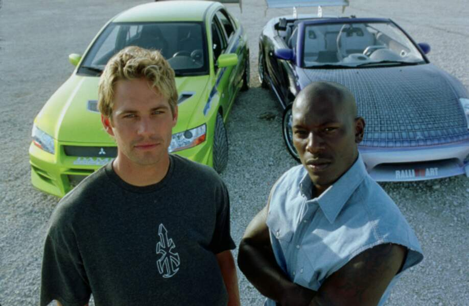 Paul Walker et Tyrese Gibson