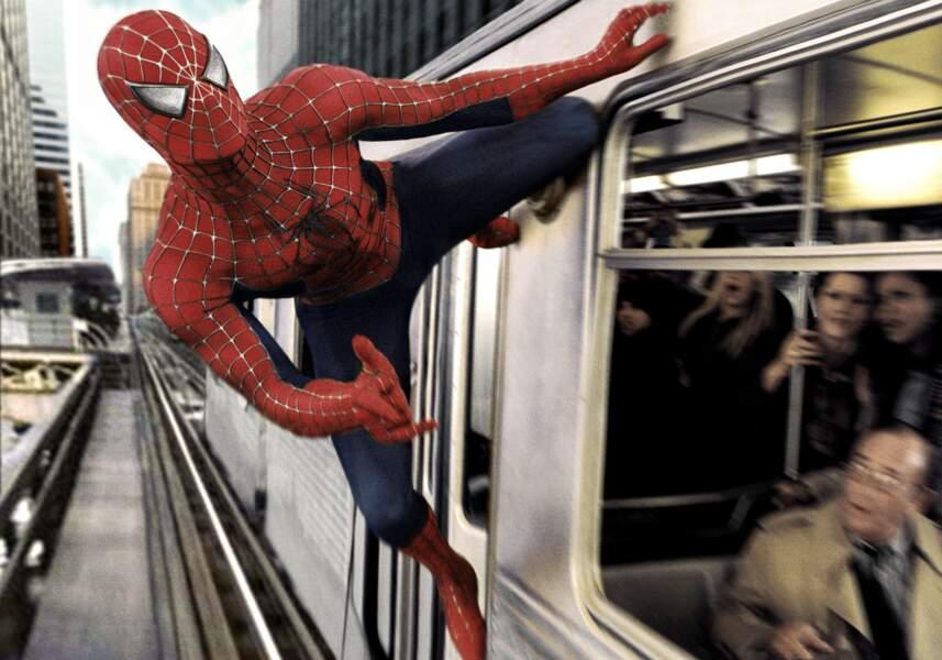 Spider-man voit rouge...