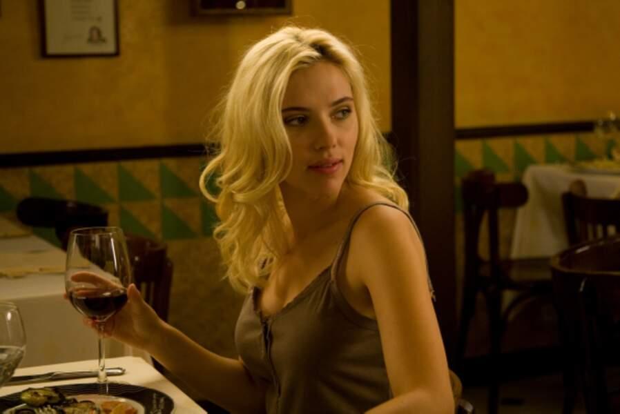 Scarlett Johansson dans Vicky Cristina Barcelona (2008)