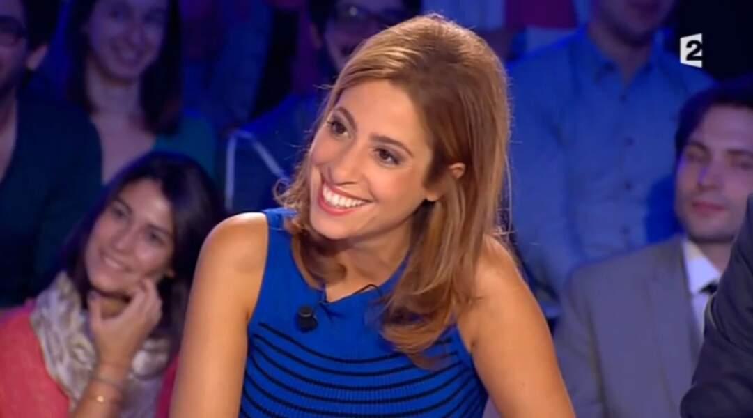 Léa Salamé est aujourd'hui chroniqueuse dans On n'est pas couché sur France 2.