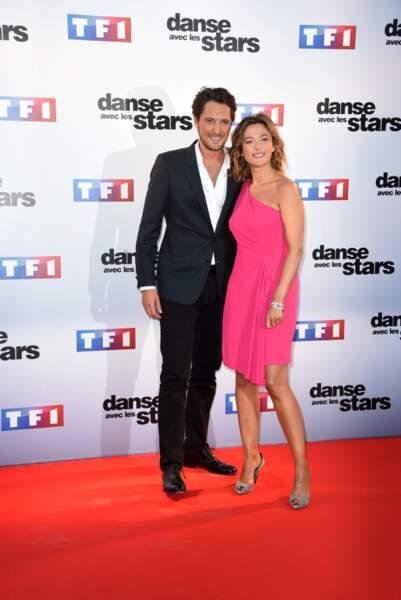 Vincent Cerutti et Sandrine Quétier, les présentateurs de Danse avec les stars