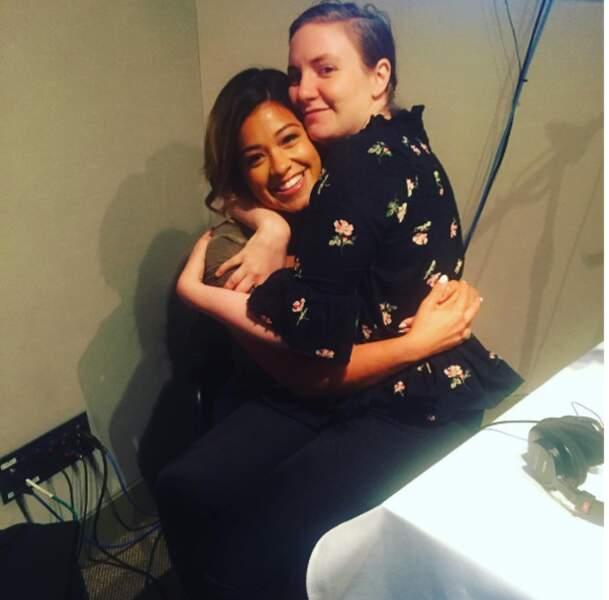 Gina Rodriguez et Lena Dunham, une rencontre au sommet