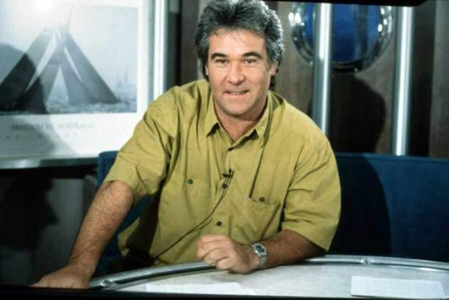 Georges Pernoud, patron de Thalassa depuis 1975