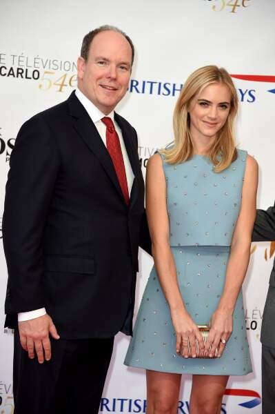 Prince Albert de Monaco et Emily Wickersham (NCIS)