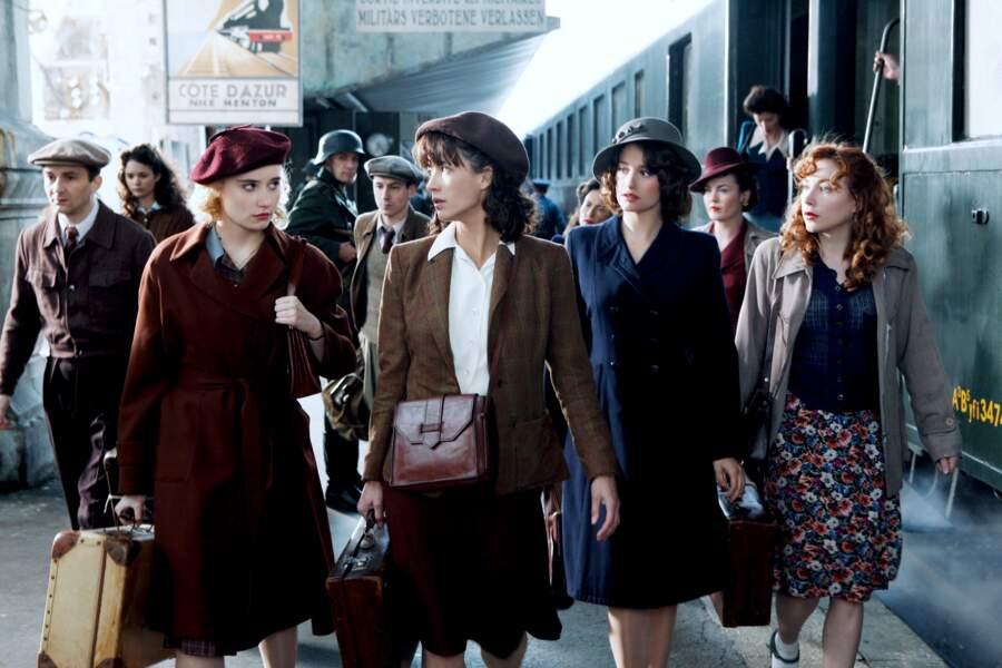 """Puis l'actrice participe au casting des """"Femmes de l'ombre"""" et campe une résistante sous l'occupation nazie"""