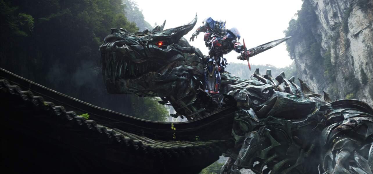 Transformers: l'âge de l'extinction (sortie le 16 juillet 2014)