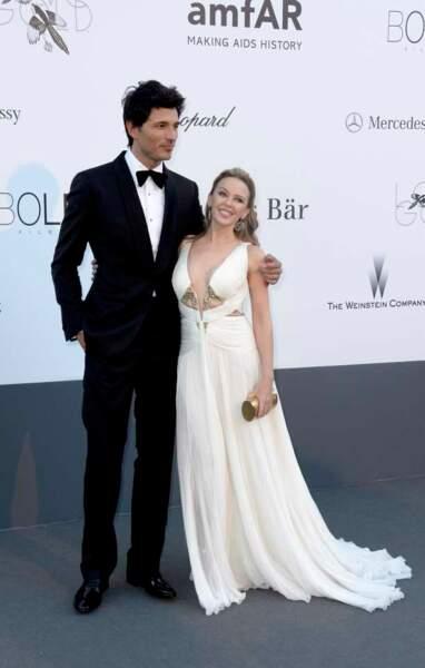 Kylie Minogue et Andres Velencoso