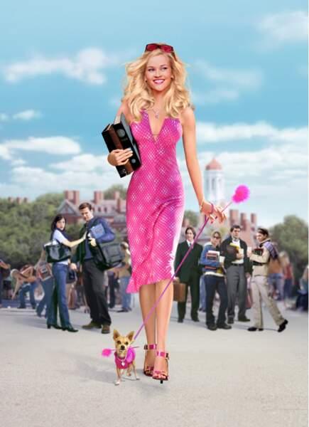 Blonde et fière de l'être dans La Revanche d'une blonde (2001)