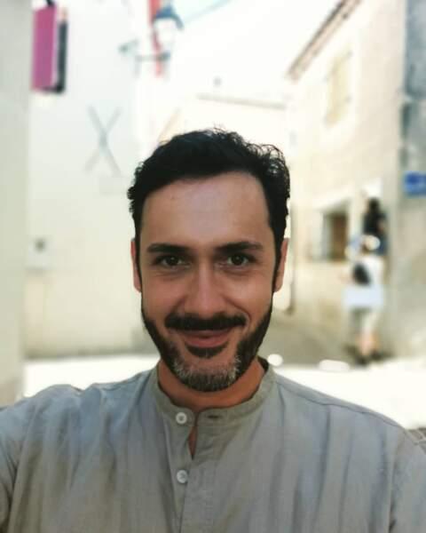 Emanuele Giorgi est ravi de retrouver les studios de Plus belle vie…