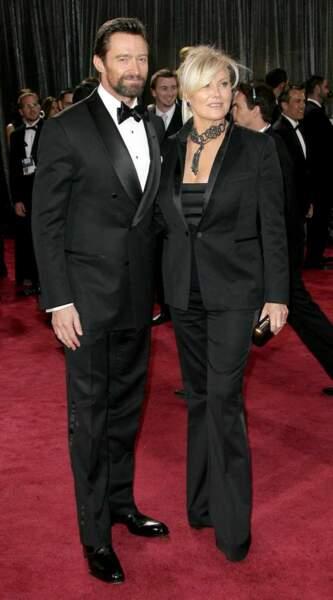 Hugh Jackman et sa femme Deborra-Lee Furness