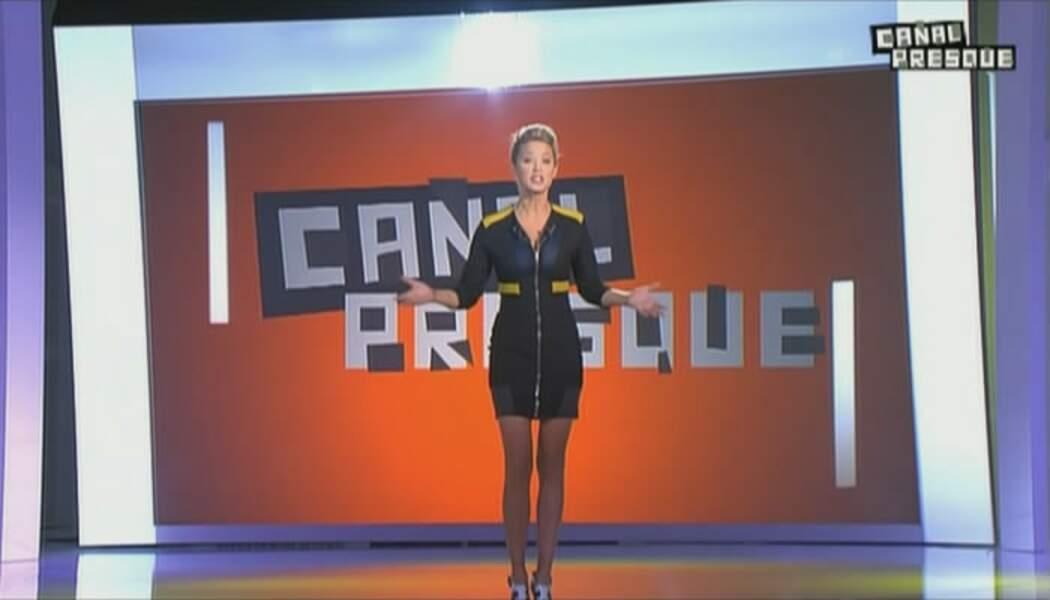 Elle y animera, avec beaucoup d'humour, l'émission de divertissement Canal Presque.