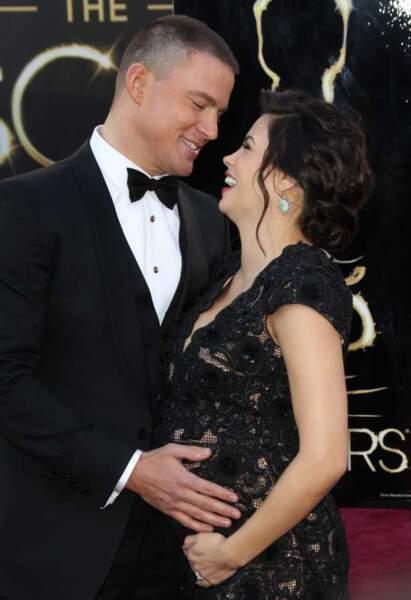 Channing Tatum et sa femme enceinte Jenna Dewan