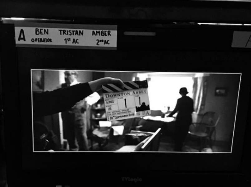 C'est officiel, le tournage du film Downtown Abbey est enfin lancé !