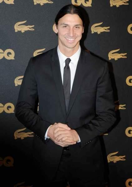 "Zlatan Ibrahimovic ""homme de l'année 2013"" selon GQ"