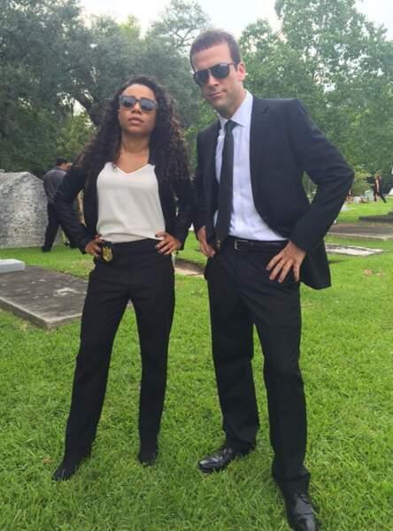 Lucas Black et Shalita Grant sont prêts à en découdre pour la nouvelle saison de NCIS : Nouvelle-Orléans