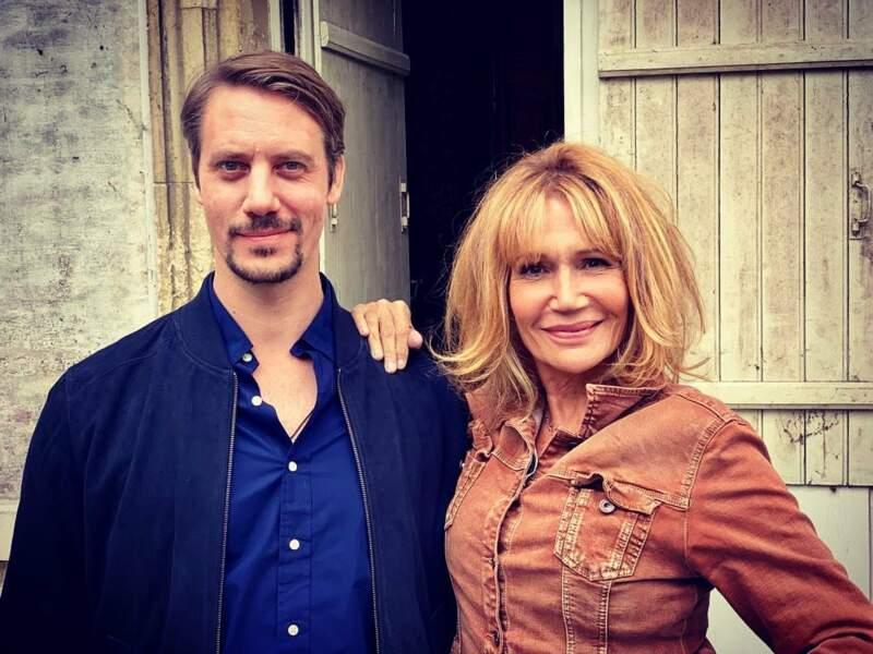 Joffrey Platel et Clémentine Célarié commencent le tournage de Poquelin pour France 3
