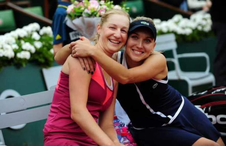 Les Russes Ekaterina Makarova et Elena Vesnina ont gagné le double dames