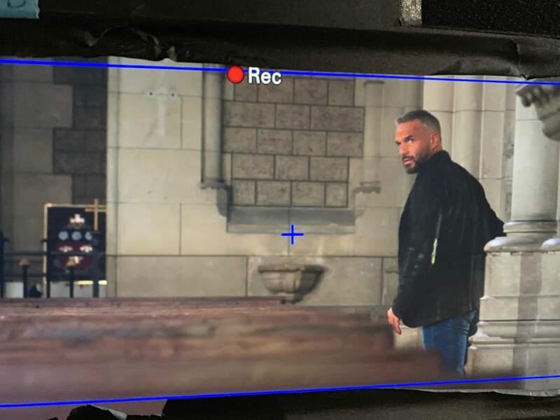 Philippe Bas donne des nouvelles du tournage de Profilage à ses fans