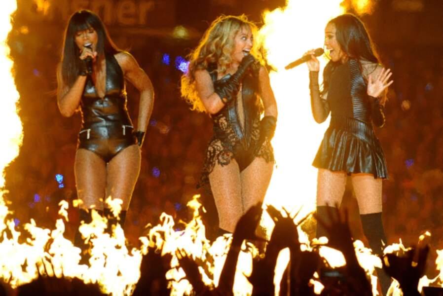 Un trio bouillant qui mettait le feu aux planches.