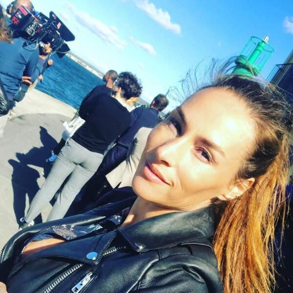 Quant à Vanessa Demouy, elle rayonne sous le soleil de Sète