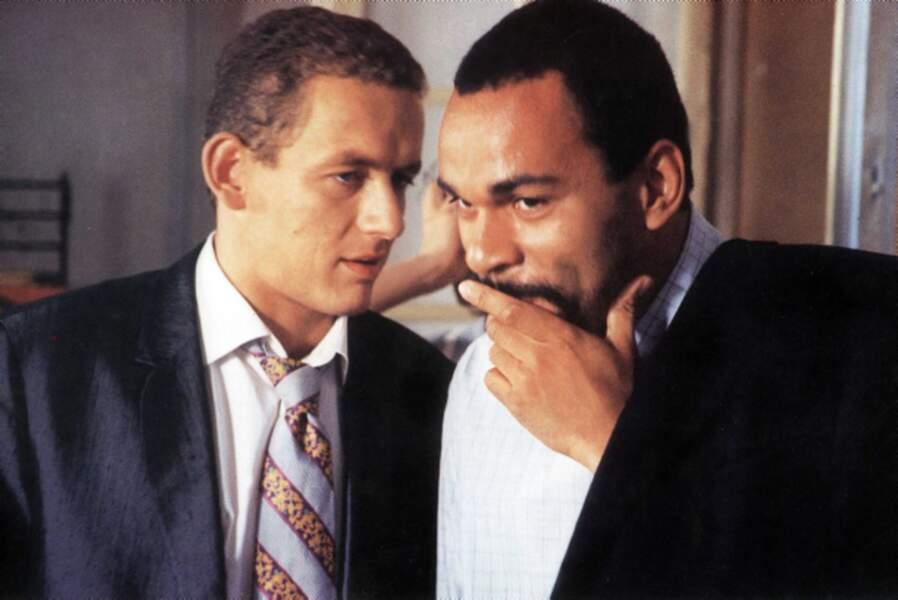 Premiers pas sur grand écran dans Le Déménagement (1997), ici avec Dieudonné