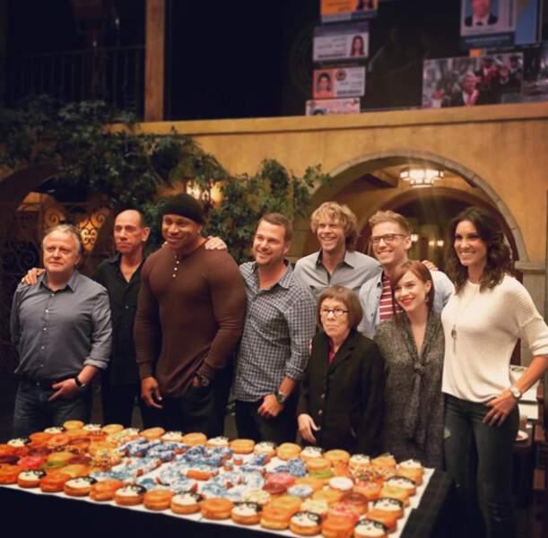L'équipe de NCIS : Los Angeles fête en grande pompes le cap des 150 épisodes