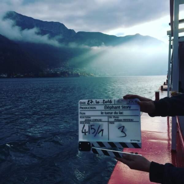 Julie de Bona a commencé le tournage du tueur du lac et nous le fait savoir