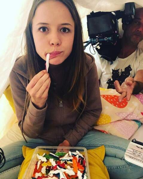 Une petite faim Marysole Fertard (alias Margot dans le feuilleton de la Une) ?
