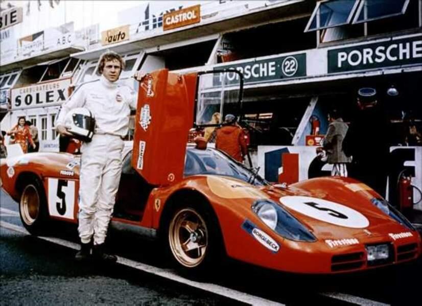 Steve McQueen dans le film Le Mans (1971)