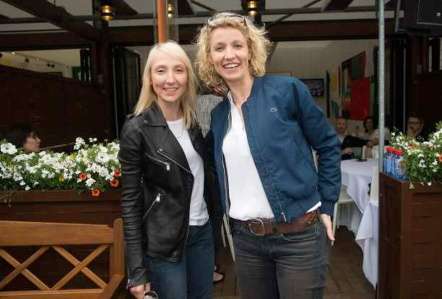 Audrey et Alexandra Lamy