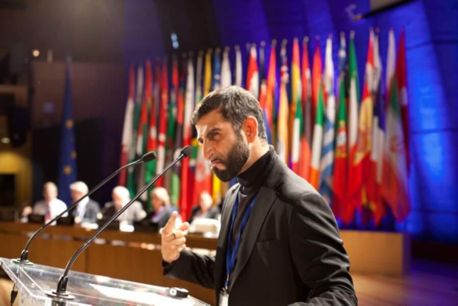 Kheiron, dangereux iranien dans Les Gamins (2013)