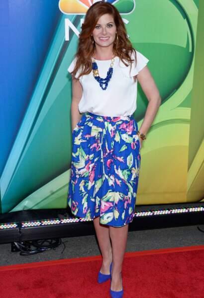 Debra Messing, héroïne de la série Will et Grace.