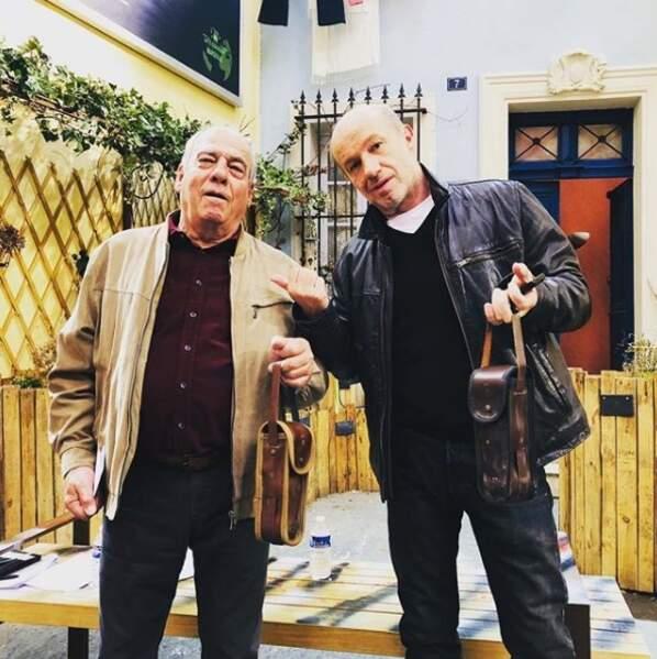 Roland et Léo sont fin prêts à taquiner le cochonnet !