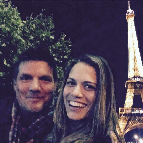 Toute l'équipe a profité de son séjour à Paris pour jouer les touristes
