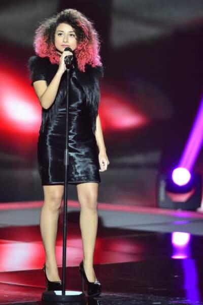 Idem pour Dalia Chih. Celle qui a été finaliste d'un télé-crochet en Algérie a été rattrapée de justesse par Mika