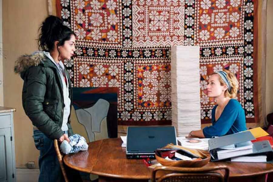 Roschdy Zem lui offre un rôle dans son premier film en tant que réalisateur, Mauvaise foi (2006)