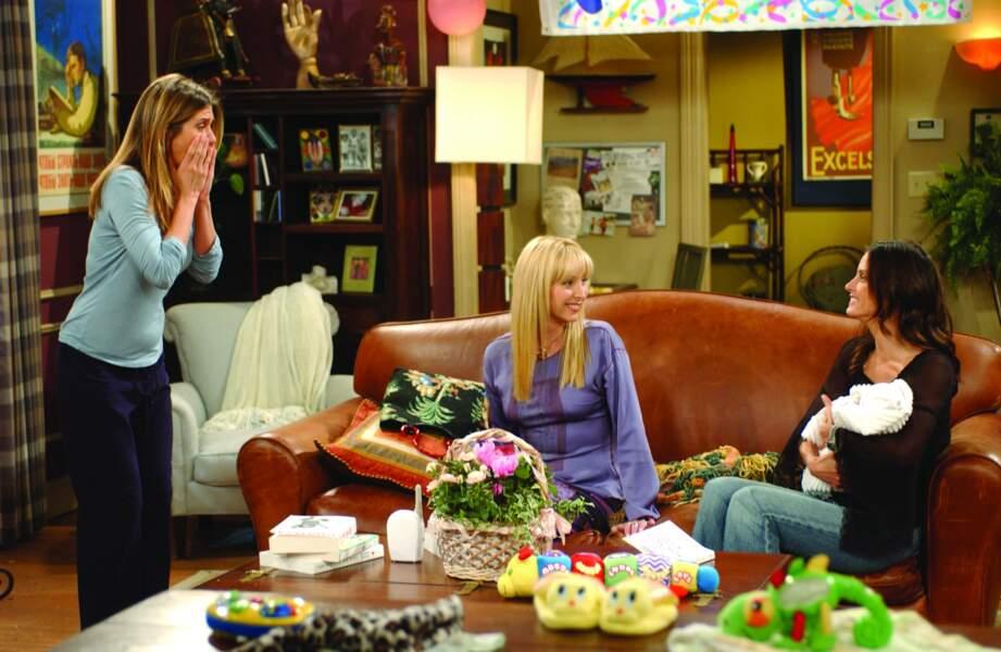 Friends (saison 9 - 2002) : avec Lisa Kudrow et Courteney Cox