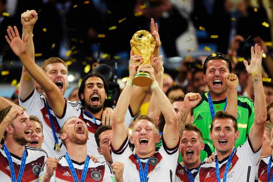 L'équipe d'Allemagne a fêté son quatrième titre dans la compétition