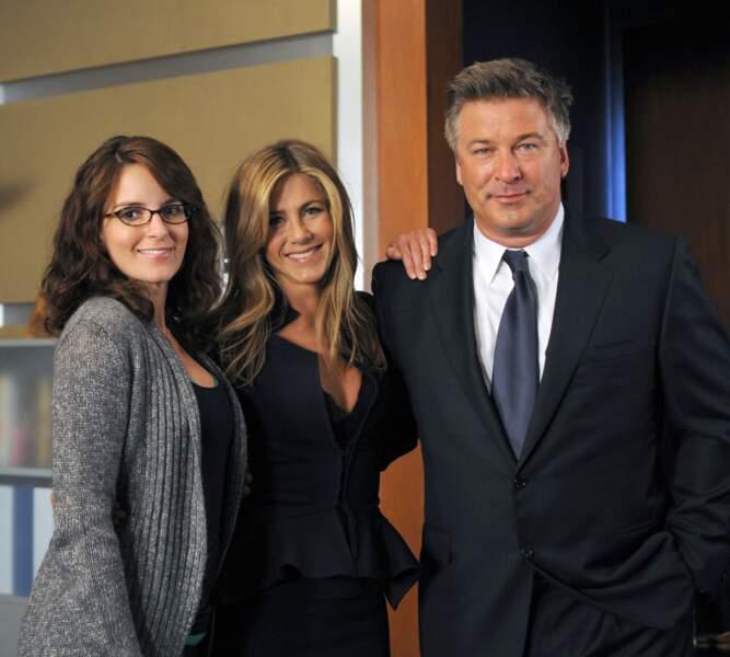 30 Rock (saison 3 - 2008) : avec Tina Fey et Alex Baldwin