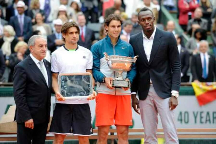 Jean Gachassin et Usain Bolt ont remis les trophées
